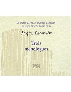 Jacques Lacarrière - Trois...