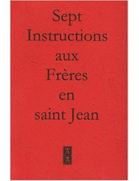 Anonyme - Sept instructions...