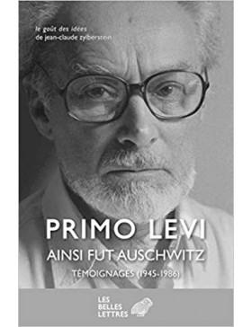 Primo Levi - Ainsi fut...